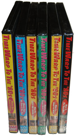 Time Warp to the 80's Box Set