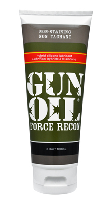 Gun Oil Force Recon Hybrid Silicone Lube 3.3oz