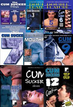 Cum Suckers 1-12, 9 DVD Set